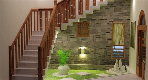 kerala home interior design photos amazing the stairs garden to impress you