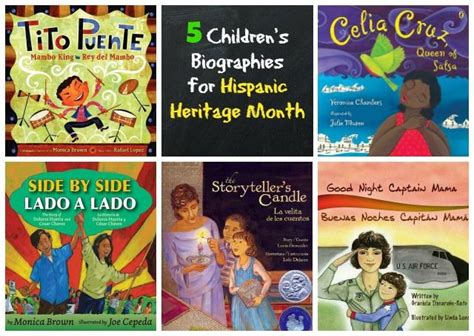 biography books for students 5 children s biography books for hispanic heritage month
