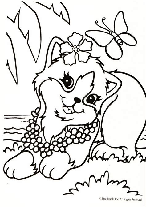 lisa frank coloring pages az coloring pages