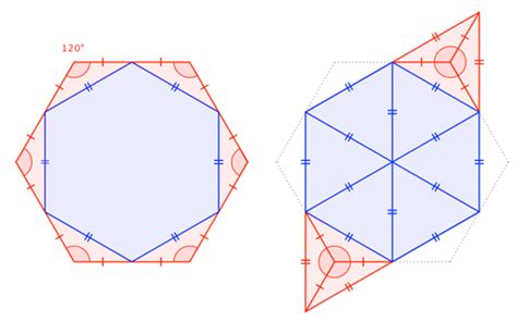 Geometry The Fraction Of The Larger Hexagon That Is - geometry the fraction of the larger hexagon that is