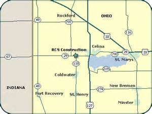 Celina Ohio Map by Celina Ohio Map Submited Images
