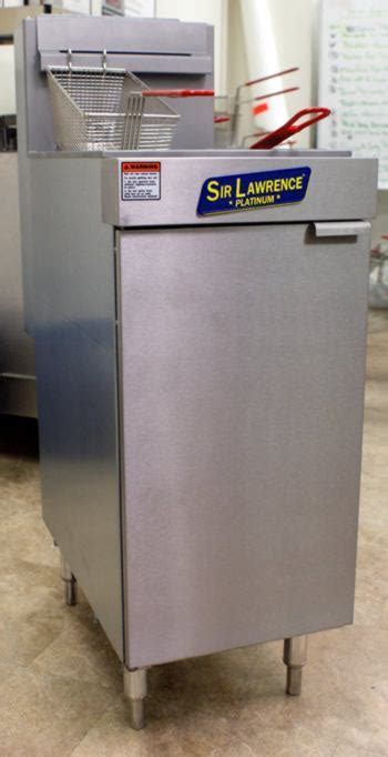 Sir Lawrence 'PLATINUM' Gas Fryer 50 lb grease capacity
