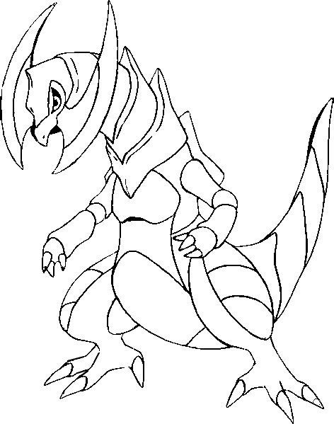 pokemon coloring pages haxorus coloring pages pokemon haxorus drawings pokemon