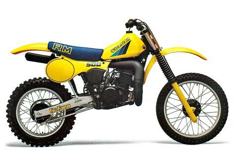 Rm500 Suzuki Suzuki Rm500 Model History