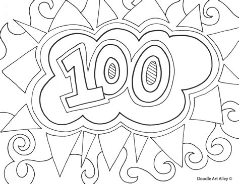 100 Coloring Pages 100 days smarter coloring pages