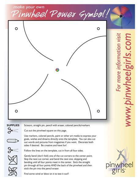 Pinwheel Template by 1000 Images About Pinwheel Crafts On Cutting
