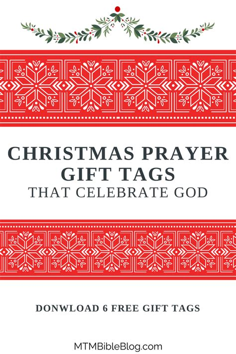 christmas invocation prayer 6 free gift tags that celebrate god move the mountains