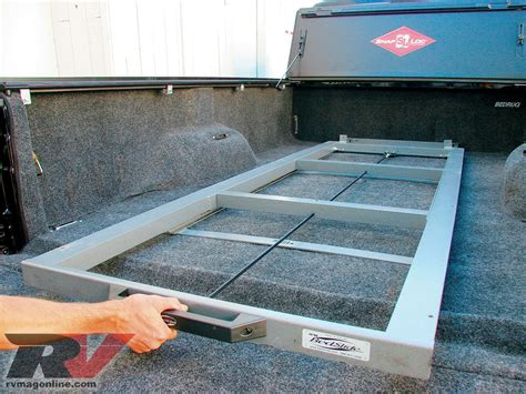 diy truck bed slide three truck bed tricks rv tech rv magazine