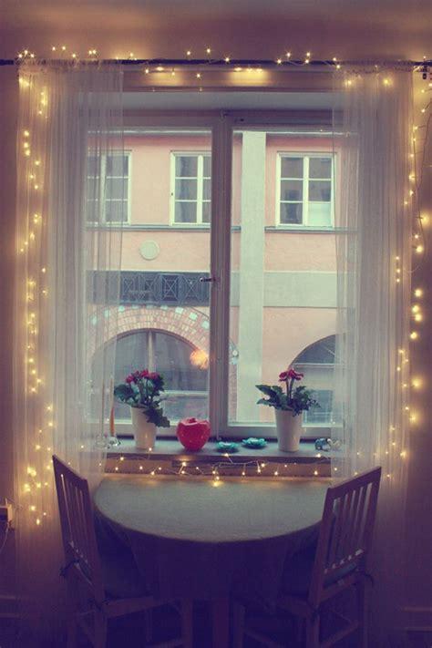 Lights For Windows Designs Diy Curtain Lights
