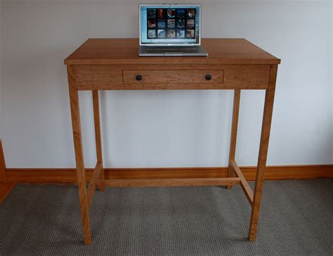 Custom Wood Stand Up Desks Made In Vermont Custom Stand Up Desk