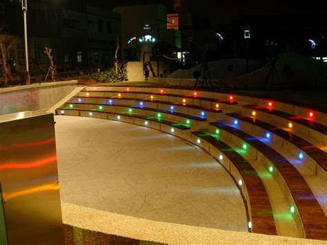Colored Landscape Lights Lively Functional And Decorative Outdoor Deck Lighting Systems Lastnightapp