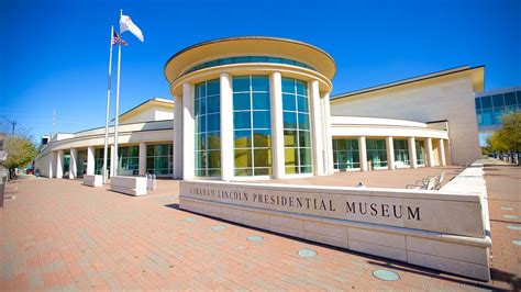 presidential libraries and museums books abraham lincoln presidential library and museum in