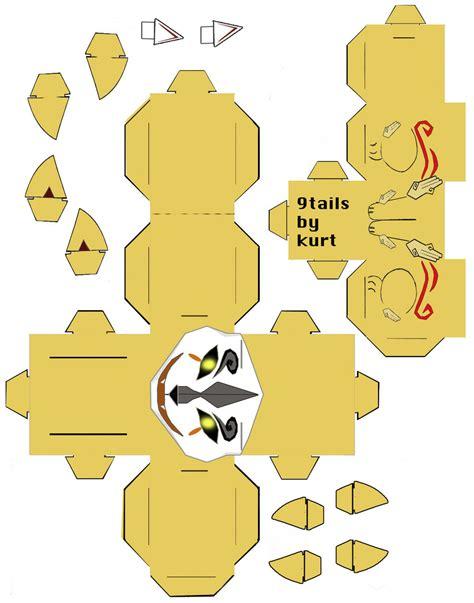 Okami Papercraft - ninetails okami cubee by scarykurt on deviantart