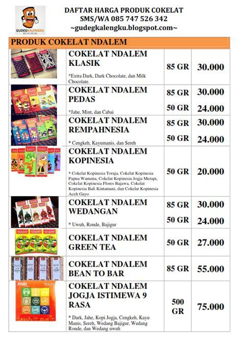 Daftar Coffee Toffee Sukabumi daftar harga gudegkalengku gudeg kaleng jogja