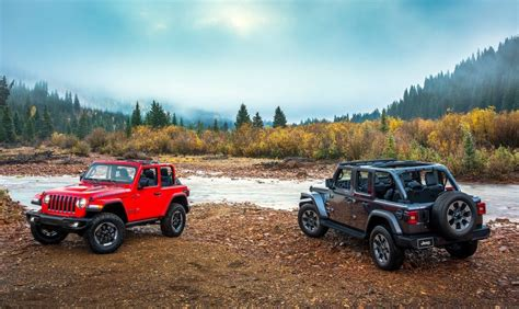 jeep range 2018 jeep wrangler officially unveiled new 2 0t 3 0