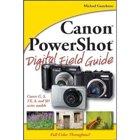cannon books wiley publications book canon powershot digital 9780470174616