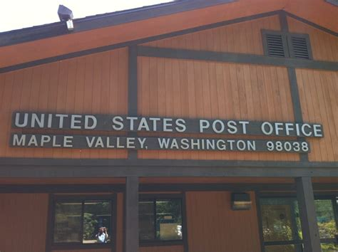 Maple Valley Post Office us post office post offices 22023 se wax rd maple