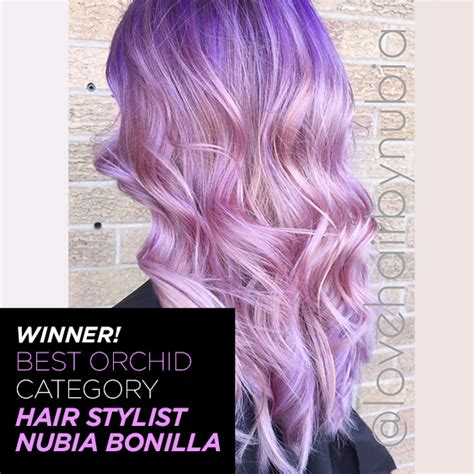 orchid hair color orchid hair color step by step