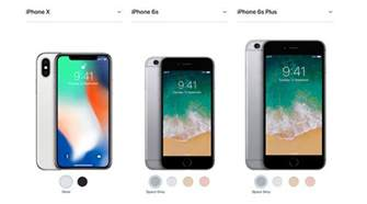 Apple iPhone 8, iPhone X, iPhone 7, 6s: Full India price