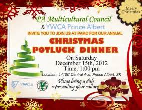 multicultural christmas potluck panow