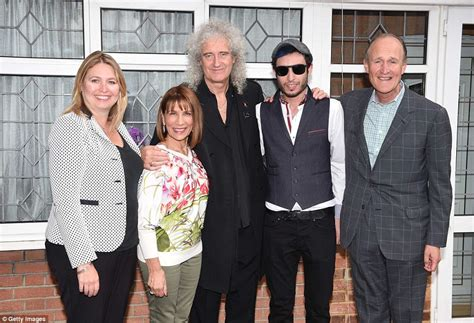 brian may family queen bandmate brian may unveils blue plaque at freddie