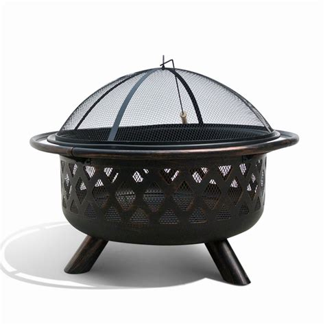 Firepit Lowes Starsong Fp001 Borealis Firenza Pit Lowe S Canada