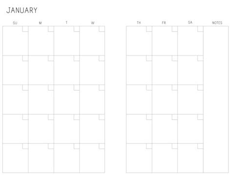 printable calendar a5 a5 month on two pages printable calendar m2p sunday saturday