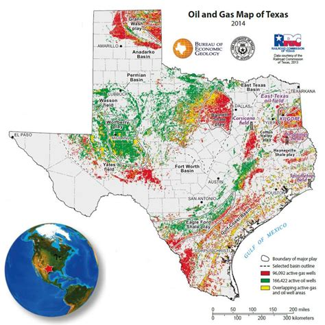 map of texas fields geo expro the great black
