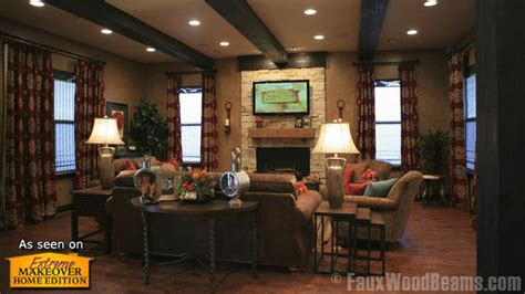 living room extreme makeover flip a house faster with quick ship faux wood workshop