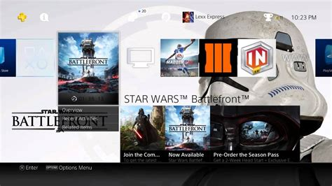ps4 battlefront themes star wars battlefront ps4 theme digital preorder
