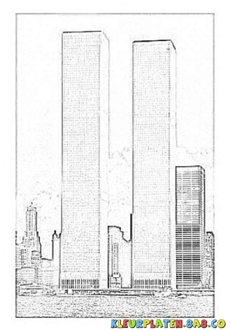 911 twin towers coloring pages coloring pages