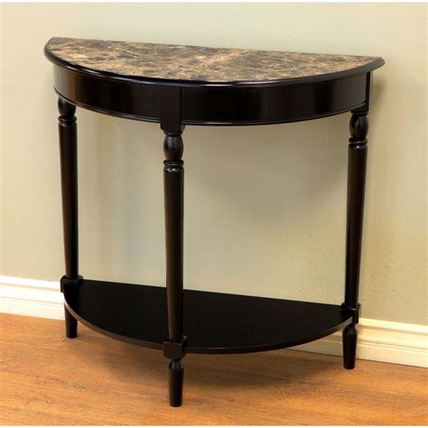 Slim Entryway Table Foyer Console Table Half Stabbedinback Foyer Simple Design With Foyer Console Table