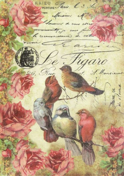 Vintage Decoupage - the 25 best ideas about decoupage paper on