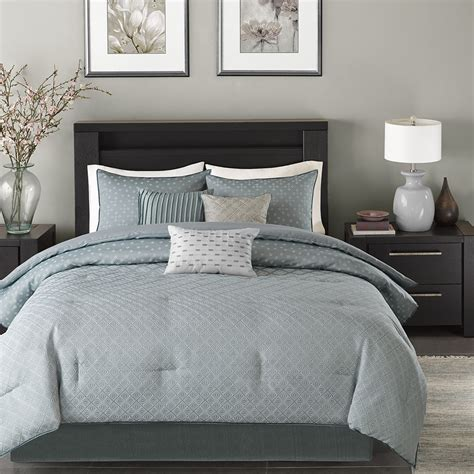 madison park biloxi 7 piece comforter set ebay
