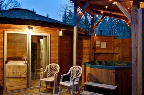 Stormking Spa And Cabins by Cabin At Mt Rainier