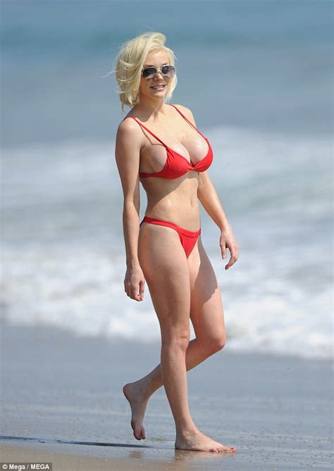 courtney loves pine pink what courtney wore page 3 courtney stodden s red bikini