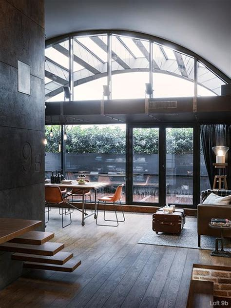 industrial loft in seattle functionally blending materials beautiful loft living ideas modern loft conversion design