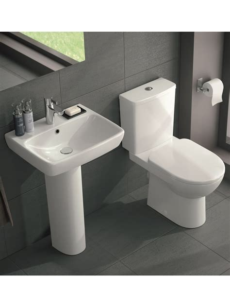 wash basin toilet twyford e100 square toilet and wash basin set
