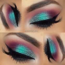 color eyeshadow fall inspired makeup look