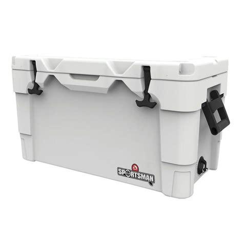 igloo sportsman 70 cooler igloo sportsman 70 qt retractable handles cooler 00049233