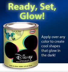glow in the paint glidden 41 best images about room on built in