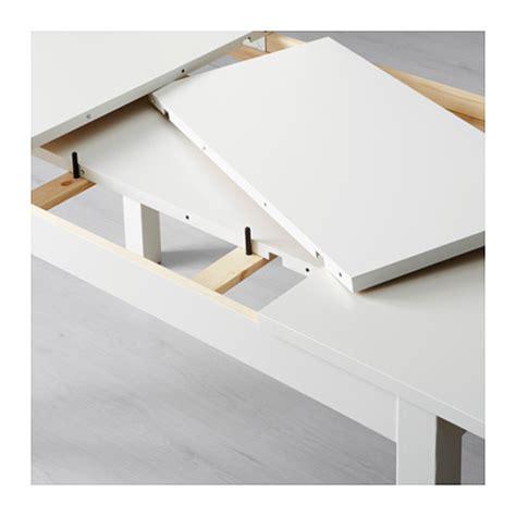 ikea extendable dining table bjursta extendable table white 140 180 220x84 cm ikea