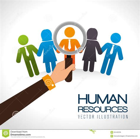 design resources human resources design stock vector image 60440236