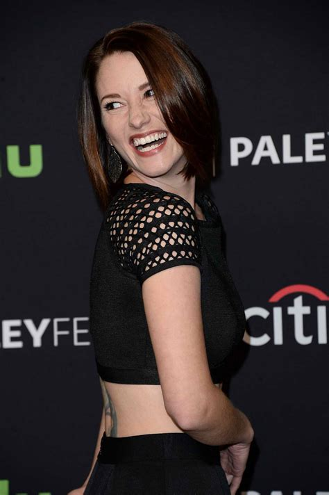 chyler leigh for media s 33rd annual paleyfest los angeles
