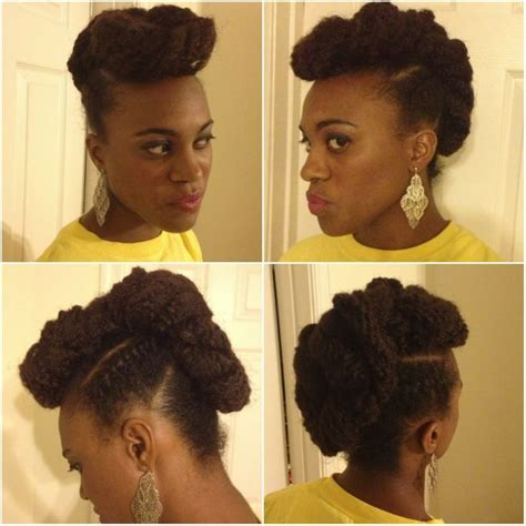 natural hairstyles using marley hair updo with marley hair added natural hair styles hurr