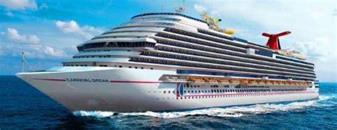 dream boat carnival carnival dream cruise ship