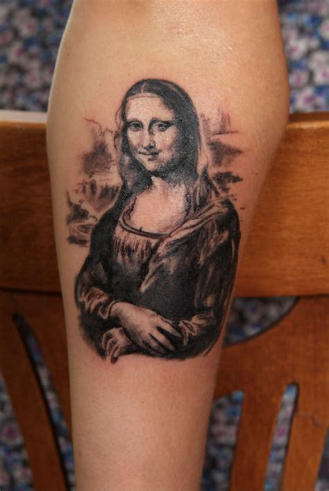 mona lisa tattoo mona by d karail on deviantart