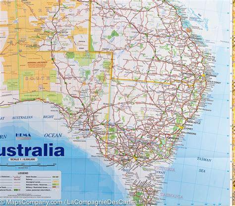 printable road maps of australia carte pli 233 e d australie hema maps la compagnie des cartes