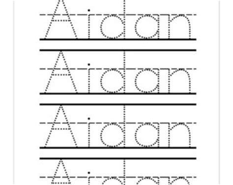 name tracing template name tracing sheets for kindergarten school worksheet