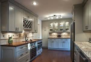 What Is The Most Popular Color For Kitchen Appliances - american cherry butcher block backsplash traditional